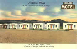 Hadlock Motel at the Gateway to Death Valley, U. S. 91, 466