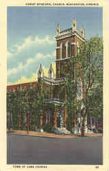 Christ Episcopal Church Postcard