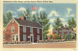 Birthplace of John Adams and John Quincy Adams