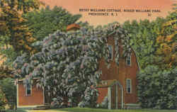 Betsy Williams Cottage, Roger Williams Park
