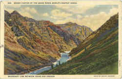Grand Canyon Of The Snake River, World's Deepest Gorge