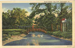 Rustic Bridge, City Park