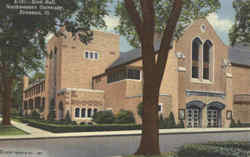 Scott Hall, Northwestern University Postcard