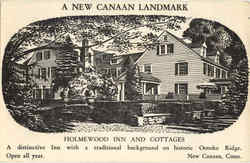 A New Canaan Landmark, Holmewood Inn And Cottages