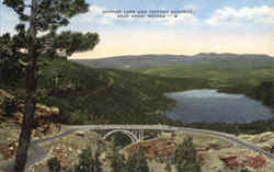 Donner Lake and Victory Highway Postcard