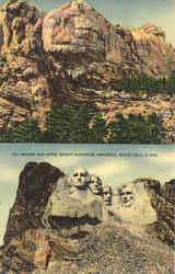 Before and After, Mount Rushmore Memorial