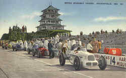 Indy 500 Motor Speedway Pagoda