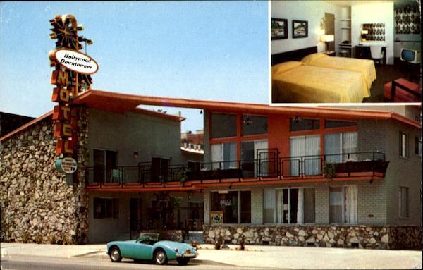 hollywood downtowner motel 5601 hollywood boulevard. Black Bedroom Furniture Sets. Home Design Ideas