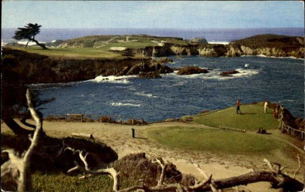 Pebble Beach California >> Cypress Point, 16th Hole Pebble Beach, CA