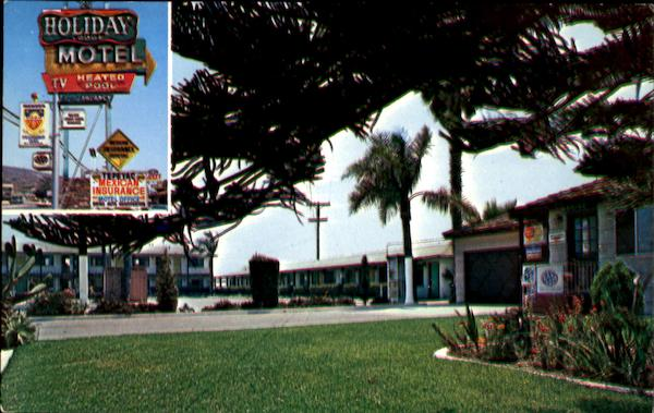 Holiday Lodge Motel San Ysidro California