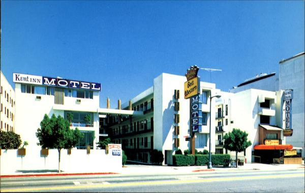 Kent Inn Motel, 920 S. Figueroa St Los Angeles California