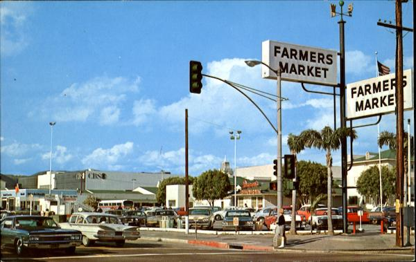 Greetings From World Famous Farmers Market Los Angeles California