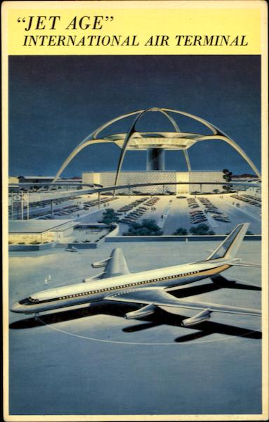 Jet Age International Air Terminal Los Angeles California