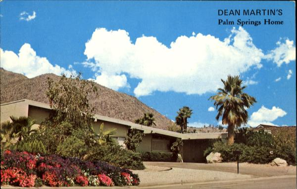 Dean Martin's Palm Springs Home California