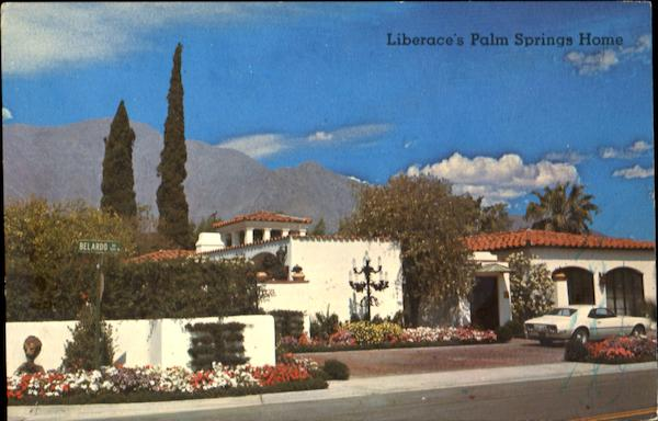 Liberace's Palm Springs Home California