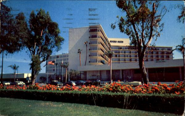 Beverly Hilton Hotel Beverly Hills California