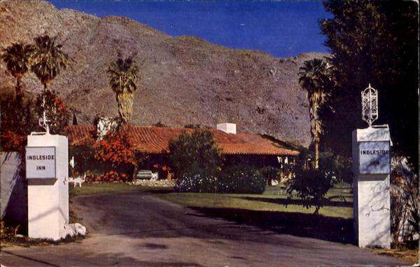 Ingleside Inn Palm Springs California
