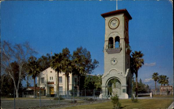 The Beale Memorial Clock Tower Bakersfield California