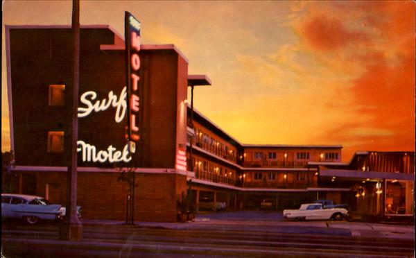 Surf Motel, 2265 Lombard St. U. S. Hwy. 101 San Francisco California