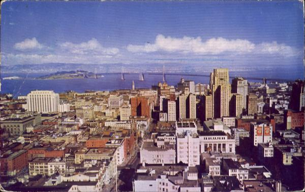 San Francisco From Top Of The Mark California