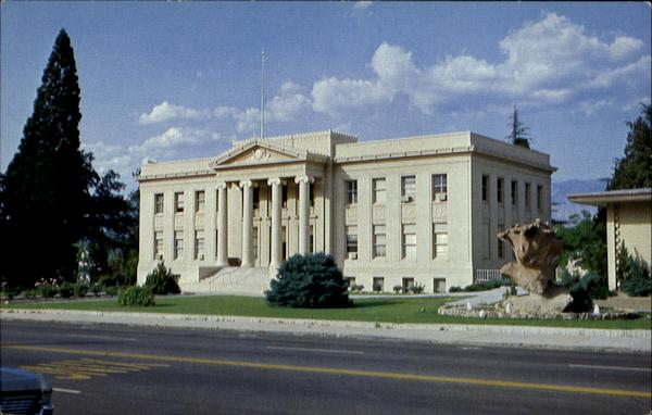 The Present Inyo County Courthouse Independence California