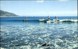 Surfing Waikiki In Southern California