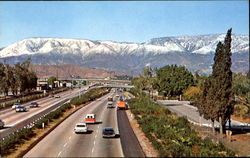 Snow Covered San Bernardino Mountain Range