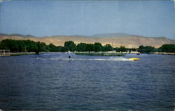Water Skiing At Hart Memorial Park