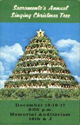 Sacramento's Annual Singing Christmas Tree