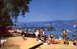 Lakeport Beach Postcard