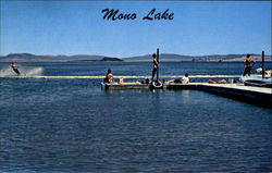 Water Skiing On Mono Lake, Hwy. 395