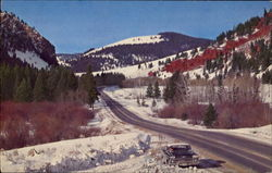 Highway 91 Between Helena And Butte