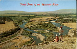 Three Forks Of The Missouri River