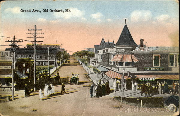 Grand Ave Old Orchard Maine
