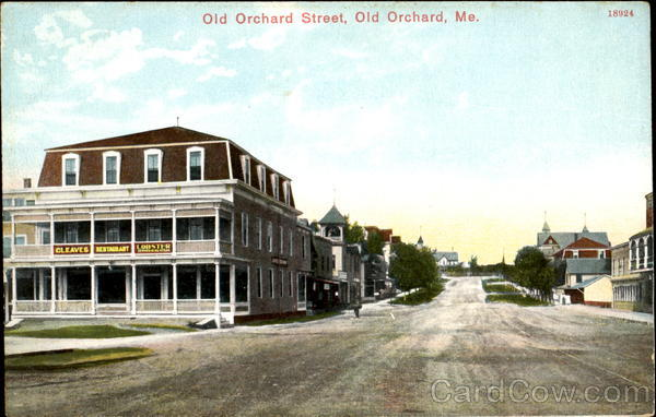 Old Orchard Street Maine