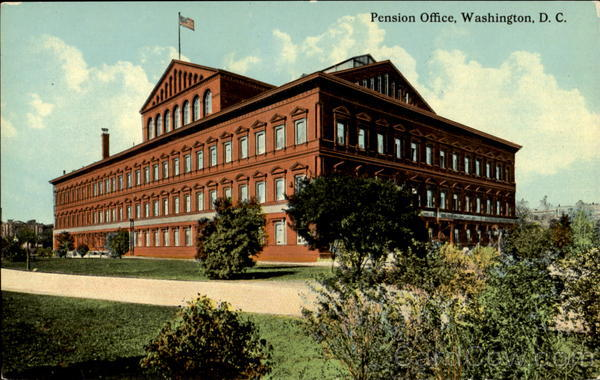 Pension Office Washington District of Columbia