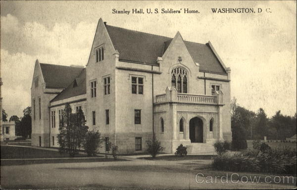 Stanley Hall U. S. Soldiers Home Washington District of Columbia