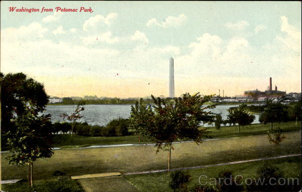 Washington From Potomac Park District of Columbia