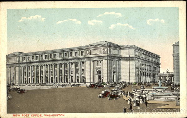 New Post Office Washington District of Columbia