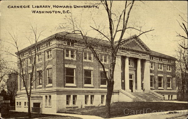 Carnegie Library, Howard University Washington District of Columbia
