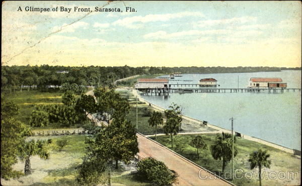 A Glimpse Of Bay Front Sarasota Florida