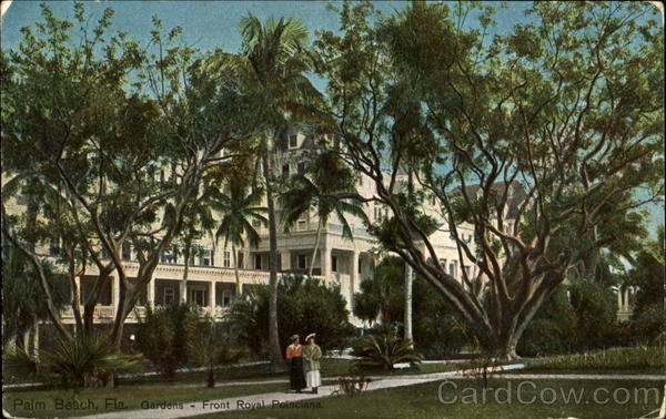 Gardens Front Royal Poinciana Palm Beach Florida