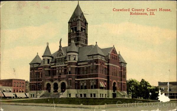 Crawford County Court House Robinson Illinois