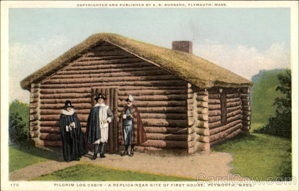 Pilgrim Log Cabin Plymouth Ma