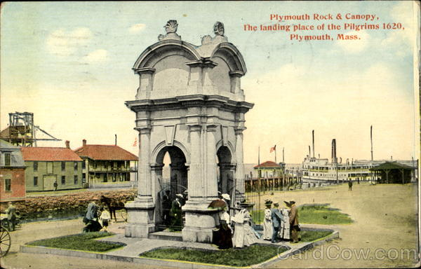 Plymouth Rock & Canopy Massachusetts