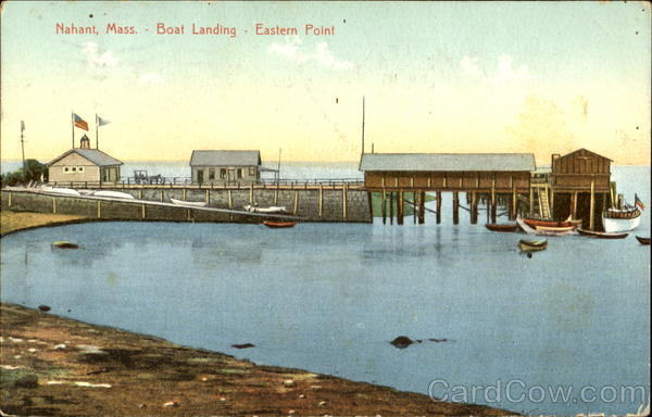 Boat Landing Eastern Point Nahant Massachusetts