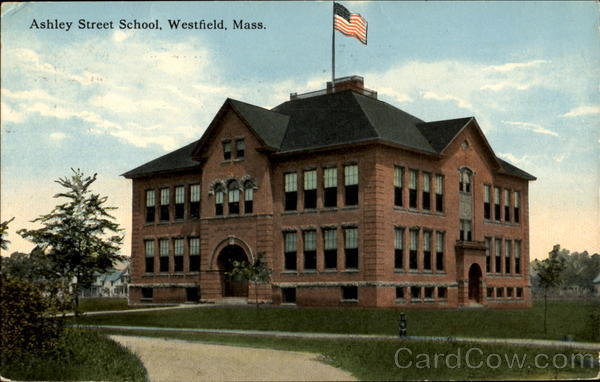 Ashley Street School Westfield Massachusetts