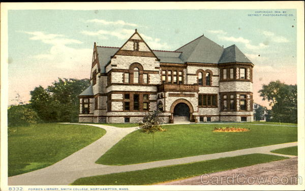 Forbes Library, Smith College Northampton Massachusetts