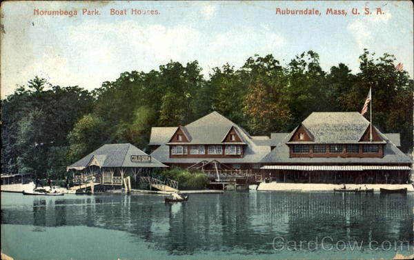 norumbega park boat houses auburndale  ma