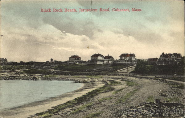 Black Rock Beach, Jerusalem Road Cohasset Massachusetts